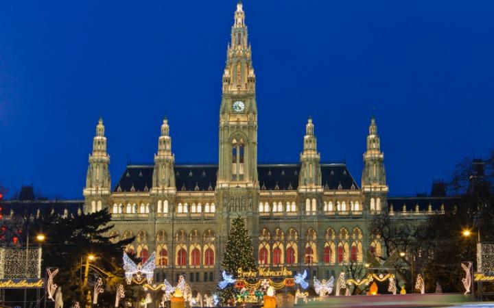 New Year's Eve in Vienna, Austria