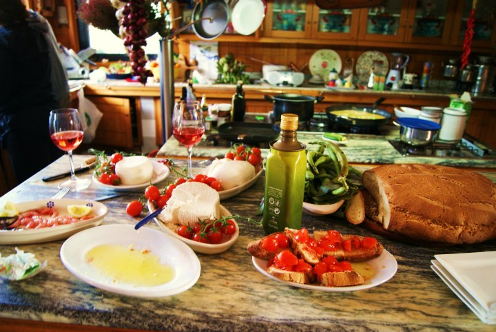 Cooking classes in some amazing private rustic kitchens