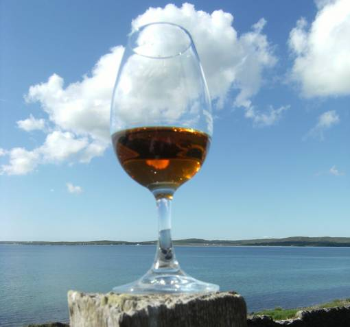 We have eight single malt whisky distilleries on Islay