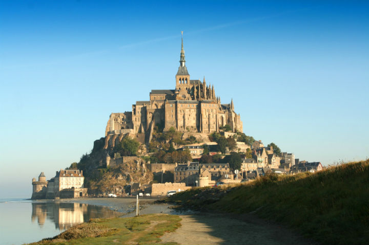 Mont Saint-Michel Castle, France