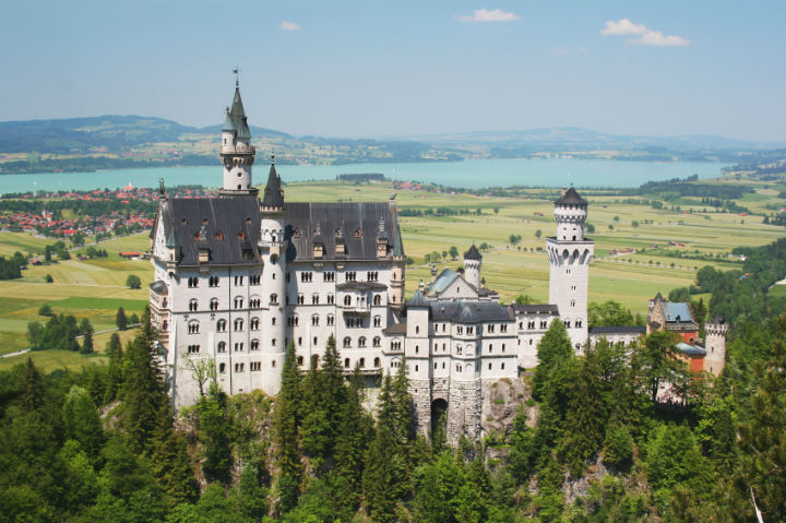 Neuschwanstein Castle, Bavaria,Germany