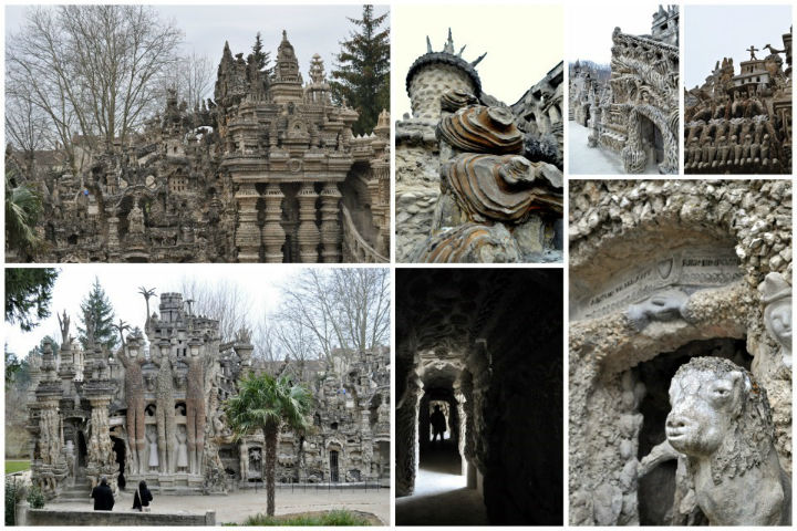 The Ferdinand Cheval's Ideal Palace Hauterives France