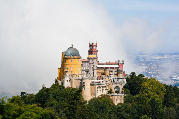The Pena Palace Sintra Portugal